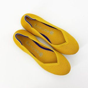 Rothy's : Lemondrop Yellow Flats Size 7